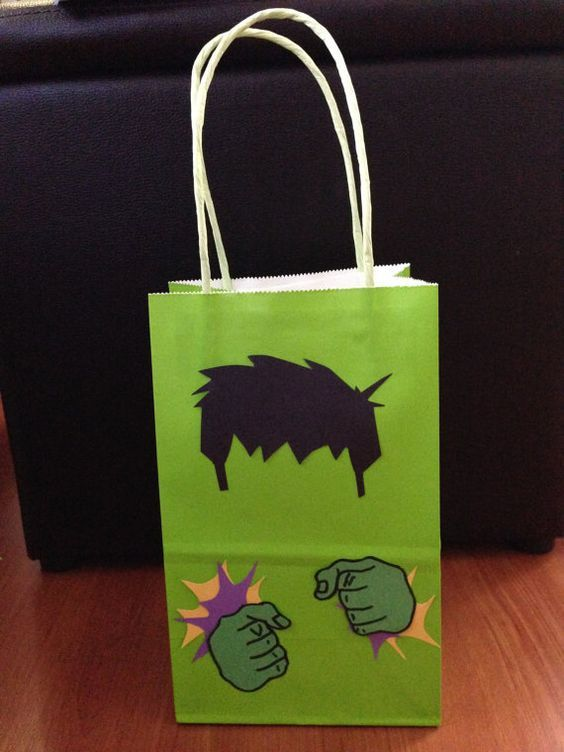 Hulk Goodie Bags (12pc):
