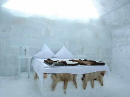 Ice Room at The Ice Hotel, Romania