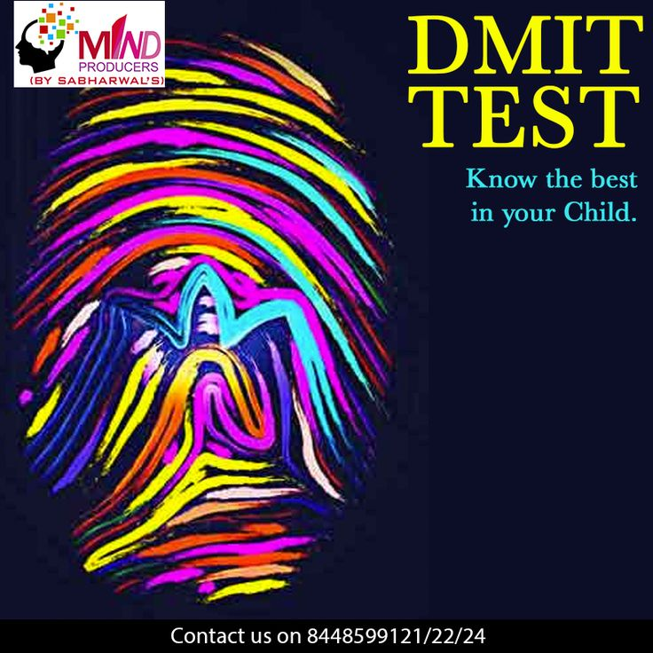 Dermatoglyphics Multiple Intelligence Test (DMIT) is a unique type of test that lets you know the best in your child.Are you looking for the best benefits of DMIT? If yes, then there could not be a better place than Mind Producers.To know more contact our experts at 8448599121/122/124.  #DMIT