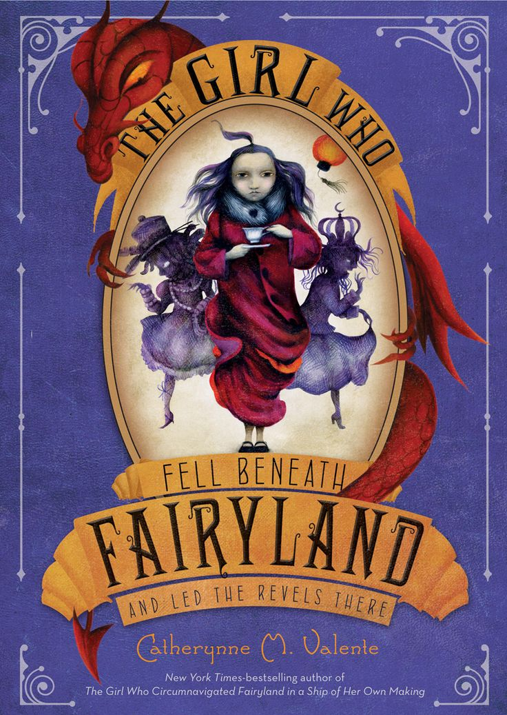 Want to read: The Girl Who Fell Beneath Fairyland and Led the Revels There by Catherynne M. Valente.