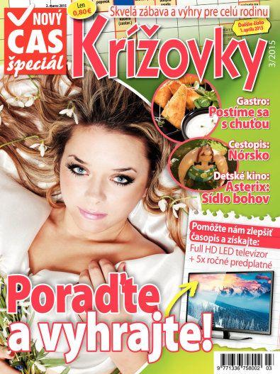 Vyhrajte 5xFullHD TV s Novým Časom Krížovky. Predplatné na http://istanok.cas.sk/ringier-predplatne/novy-cas-krizovky.html