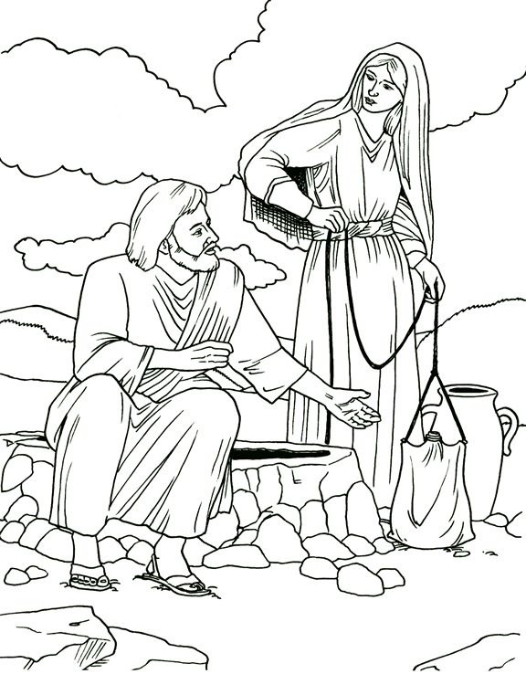 tlk bible coloring pages - photo#1