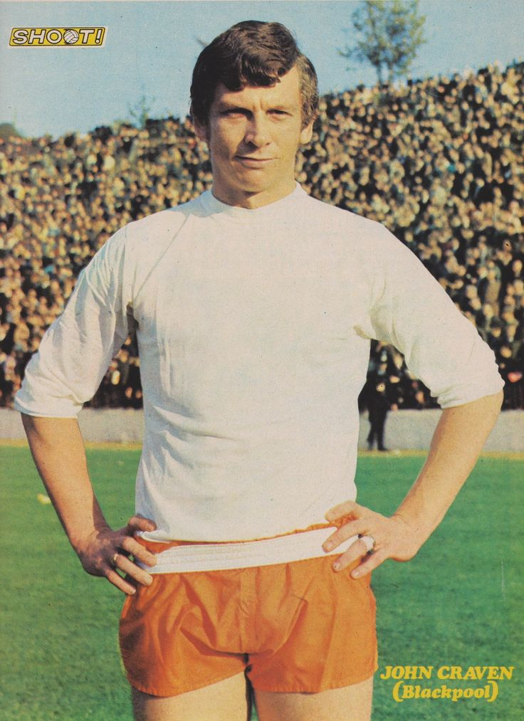 John Craven Blackpool 1971
