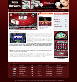 http://www.pokerlivegames.co.uk  Poker Live Games  Poker live casino provide players information the chance to play in a real casino with live dealer scenery comfort of your home or from anywhere an Internet connection.
