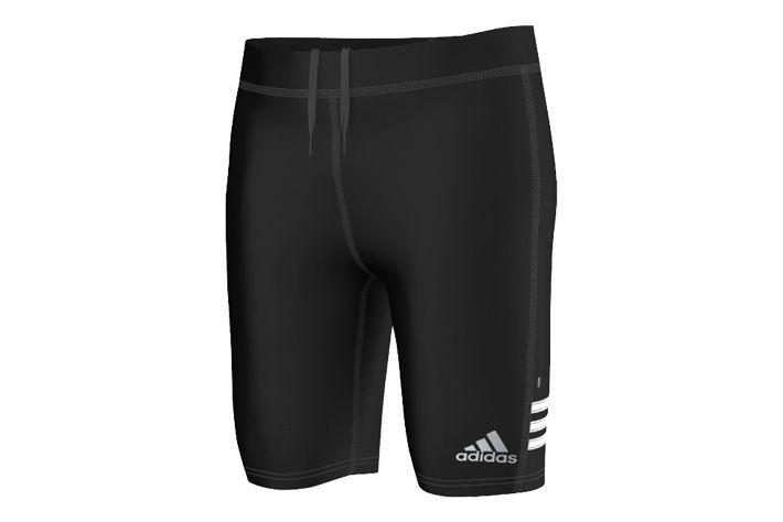 #Adidas Response Short Tight M - męskie, krótkie getry biegowe. Stworzone ze syntetycznej tkaniny, która zapewnia nam uczucie komfortu oraz zabezpiecza ciało przed przegrzaniem w wysokich temperaturach. Zalecane na wiosenną i jesienną porę. #getry #climalite #krotkie