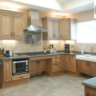 """by San Luis Kitchen Co. """"wheelchair accessible design. The ..."""
