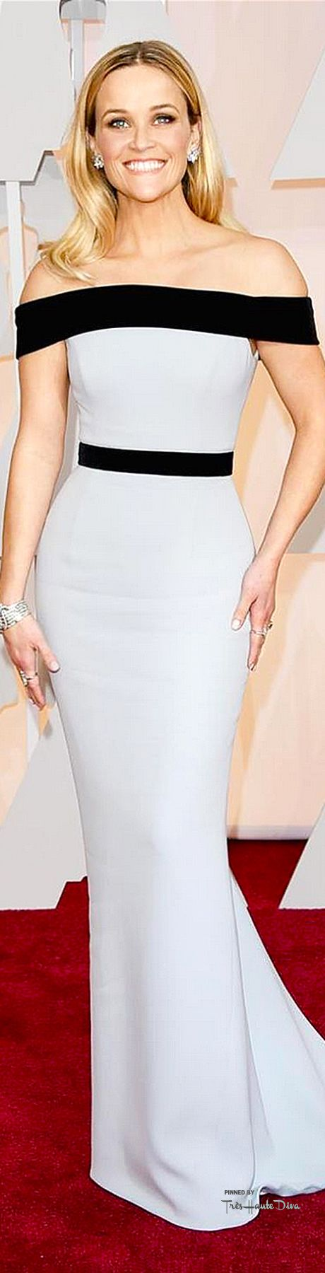 #Oscars 2015 Reese Witherspoon in Tom Ford - 2nd best dressed of the night