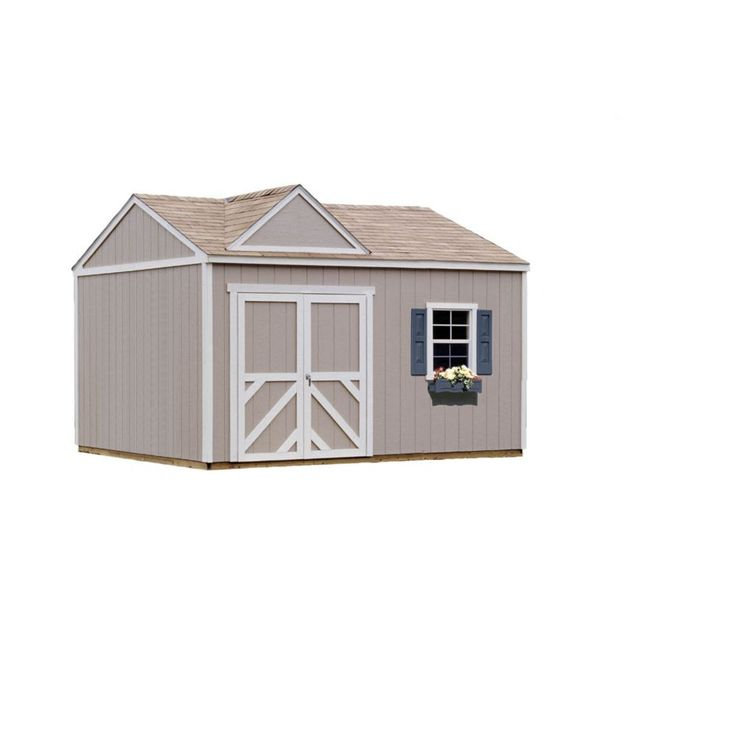 Columbia Storage Building Kit with Floor (12 Ft. x 12 Ft.)