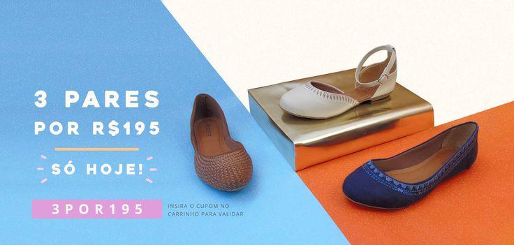 Miarte - #Tendência #Sapatos #Promoção #TáNaModa