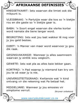 Afrikaans is vindingryk!