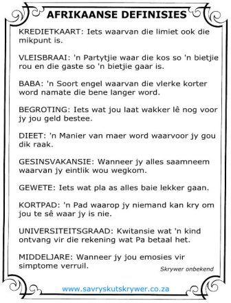 Afrikaans is vindingryk!