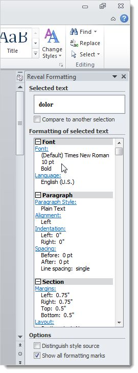 Best 25 formatting codes ideas on pinterest raspberry uses article with good screen captures and directions on how to use the reveal formatting codes in fandeluxe Images