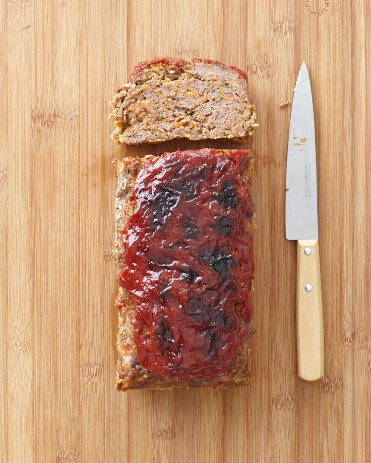 Saltine cracker crumbs replace the usual breadcrumbs in this family-friendly meatloaf with a sweet glaze.