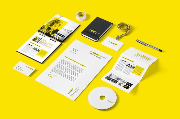 Corporate Design für eine selbständige Texterin in Hamburg. Gestaltung und Konzept Rich Shelton Nico Liebetanz