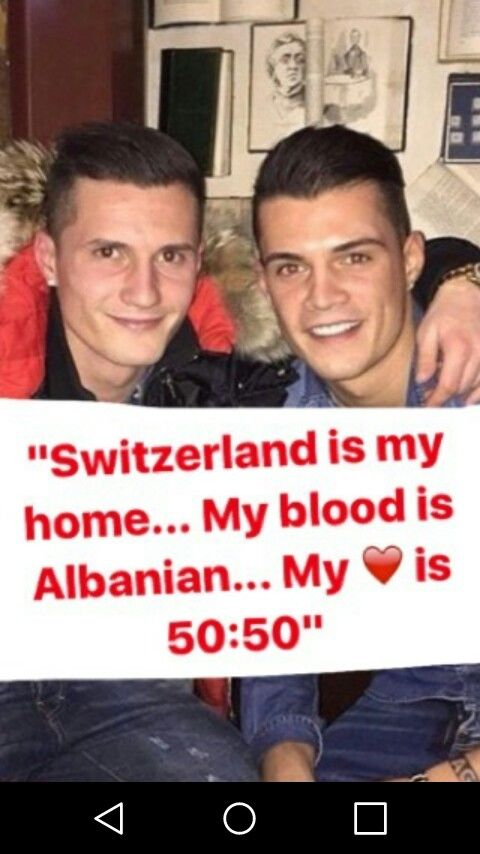 Xhaka Brothers - Instagram story