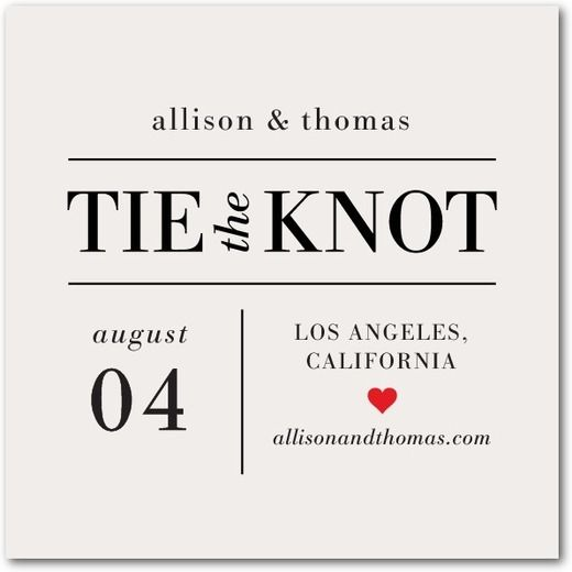 Newly engaged? Share the good news with loved ones with a minimalist save the date coaster or fridge-friendly magnet to keep.