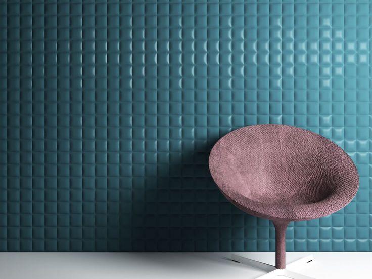 Pannello con effetti tridimensionali TRAPUNTINO by 3D Surface | design Jacopo Cecchi, Romano Zenoni