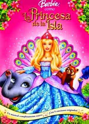 Poster de la pelicula Barbie: como la princesa de la isla (2007)