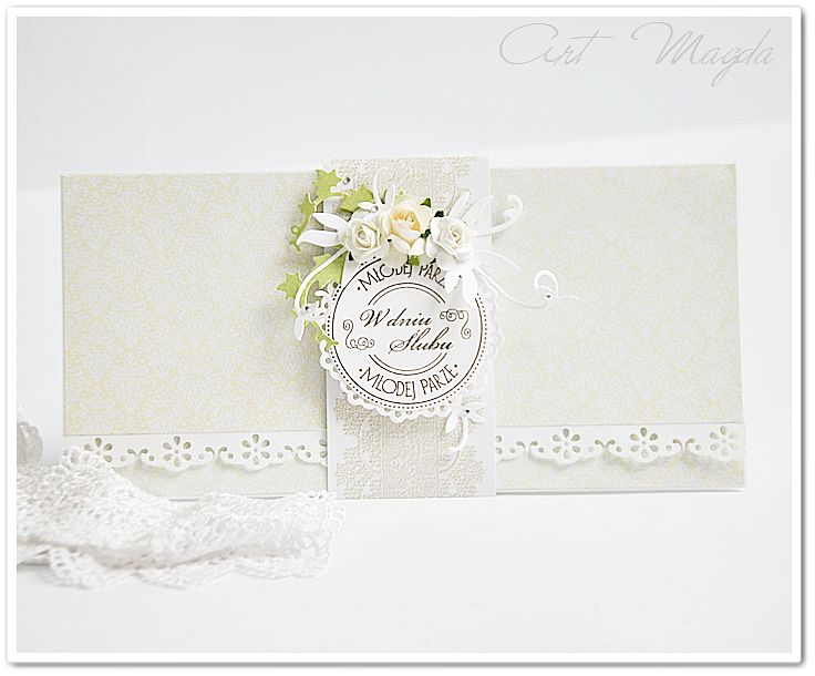 ArtMagda wedding card