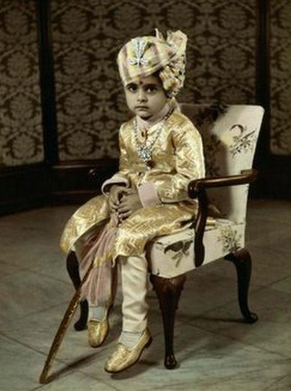 Maharaja of Rewa from the bookLes Derniers Maharajas