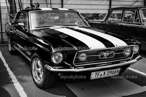 Resultado de imagem para mustang preto 1966