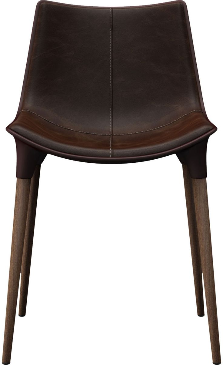 Modloft Langham Dining Chair | Leather chair, Leather ...