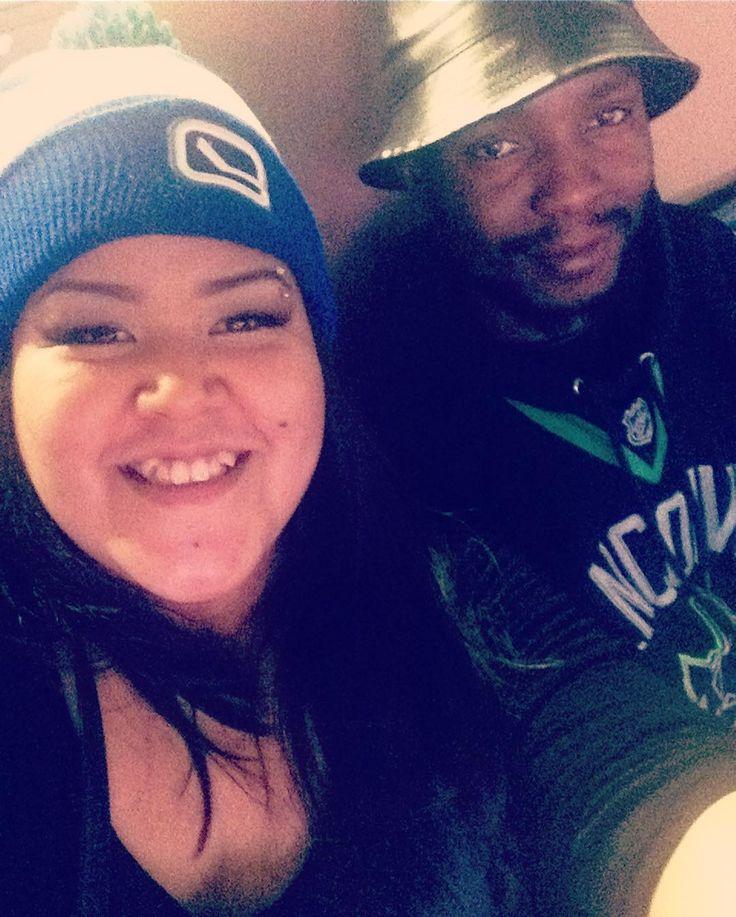#gocanucksgo #gameday #firstdate this year #interracialcouple #Love #BMWW #WWBM Find your #InterracialMatch Here #interracial-dating-sites.com #InterracialLove