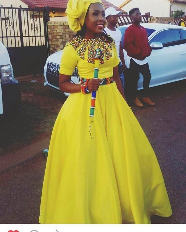 Trendy shweshwe dresses for umembeso 2019