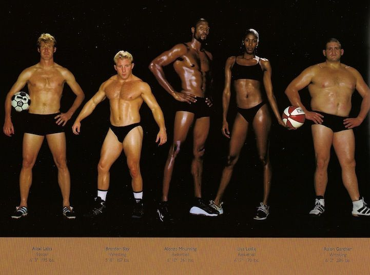 Comparing Vastly Different Body Types of Olympic Athletes - My Modern Metropolis  ~the full list of photographs at link.