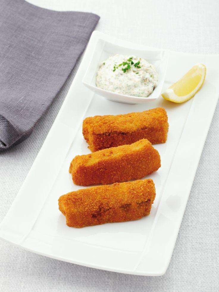 Fishsticks van koolvis http://njam.tv/recepten/fishsticks-van-koolvis