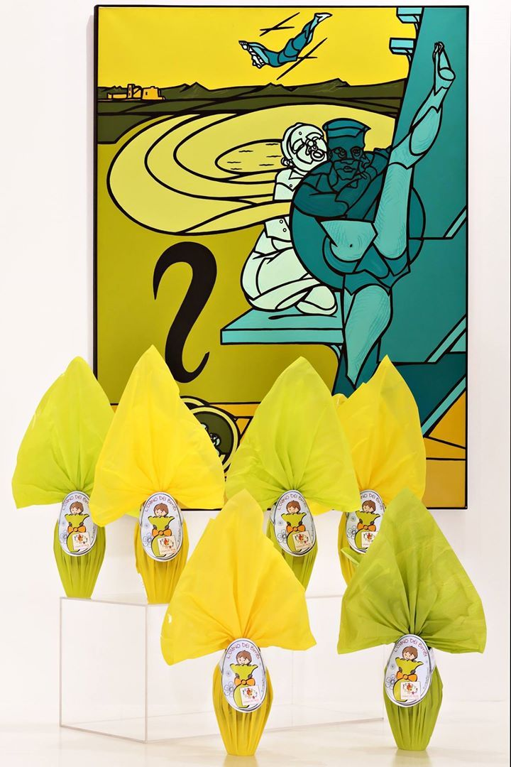 #Pasqua con #CasinaDeiBimbi Onlus. Fate un regalo dolce come il sorriso di un bambino... Vi aspettiamo in Galleria!