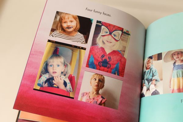 Photo books from Aunt Sara Beth