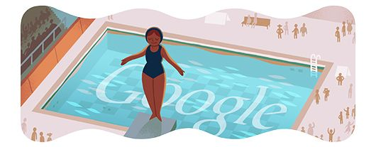 #GoogleDoodle Jul 29, 2012 #Olympics 飛び込み