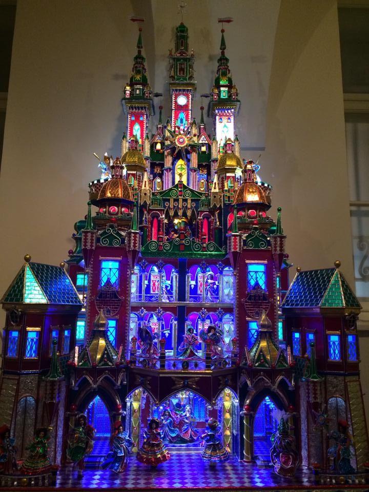 #Polish #Christmas traditions. Christmas nativity scene in Kraków
