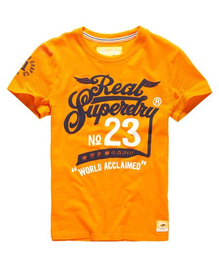 Superdry Double Drop Acclaimed T-Shirt