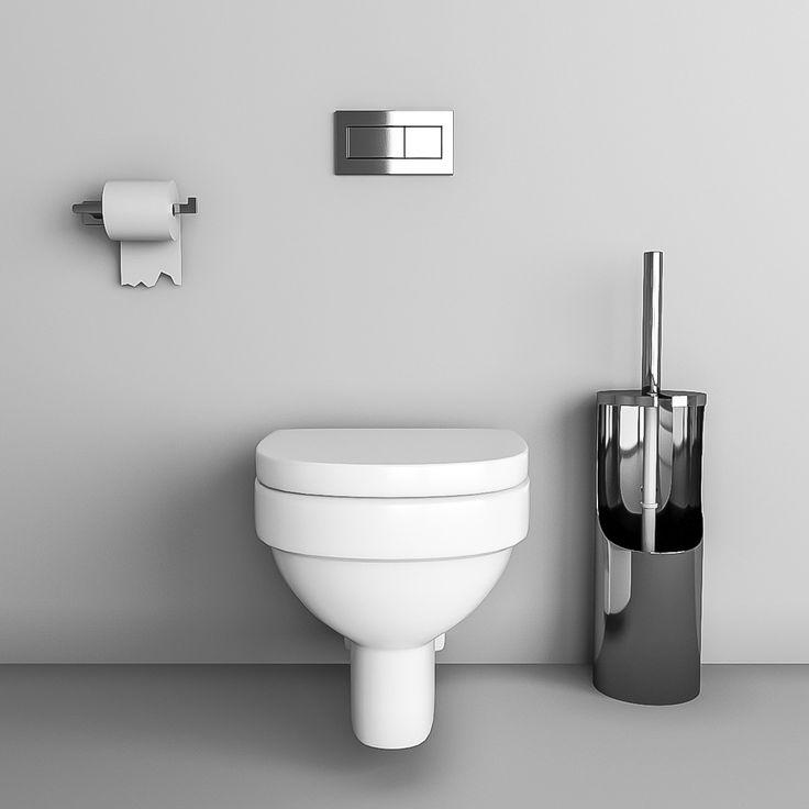 Toilet Vitra Paper Max - 3D Model
