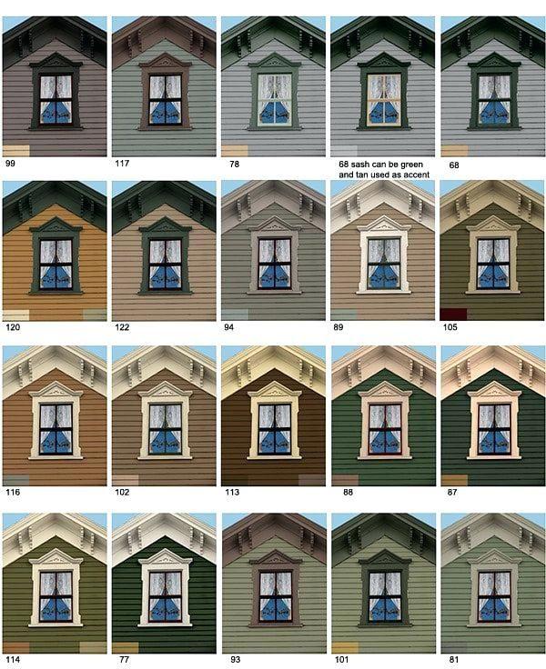 Exterior Paint Ideas For Older Homes: Tan Roof House Colors Paint Colors Home Design Magazines