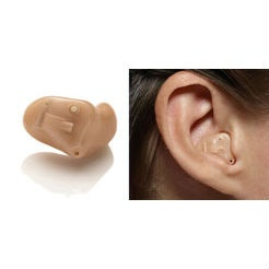 Half shell (HS) hearing aid. The half shell hearing aid fills a proportion of the bowl of the ear and offers advanced technology, capable of delivering the very best performance. #hearingaid