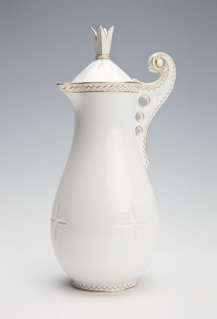 A jug in the Zakopane style by Stanisław Witkiewicz, 1900s, Muzeum Narodowe w Krakowie (MNK)