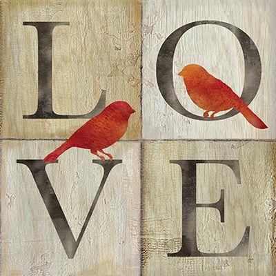 RB6736CC   Live/Love Bird II   12x12