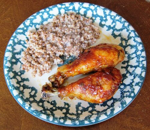 Baked Barbecued Chicken Legs Recipe – How To Make BBQ Chicken Legs