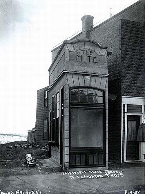 The Mite in Edmonton, 1910.