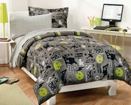 Skater Bedding and other Boys Room Ideas @ A Shop For All Seasons