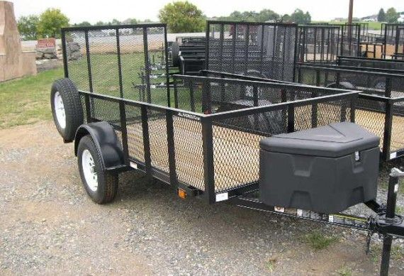 Transport all your essentials on your farm with our landscape trailers.