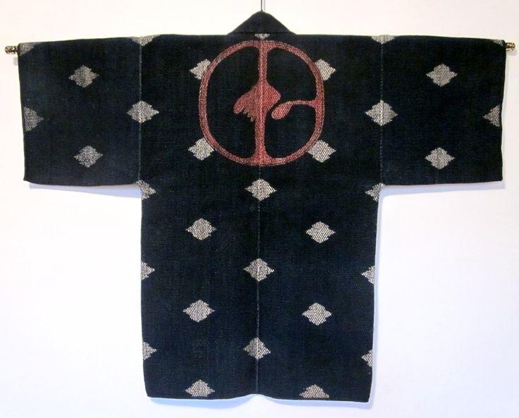 Daily Japanese Textile: ni kumi fireman's jacket IMG_5087