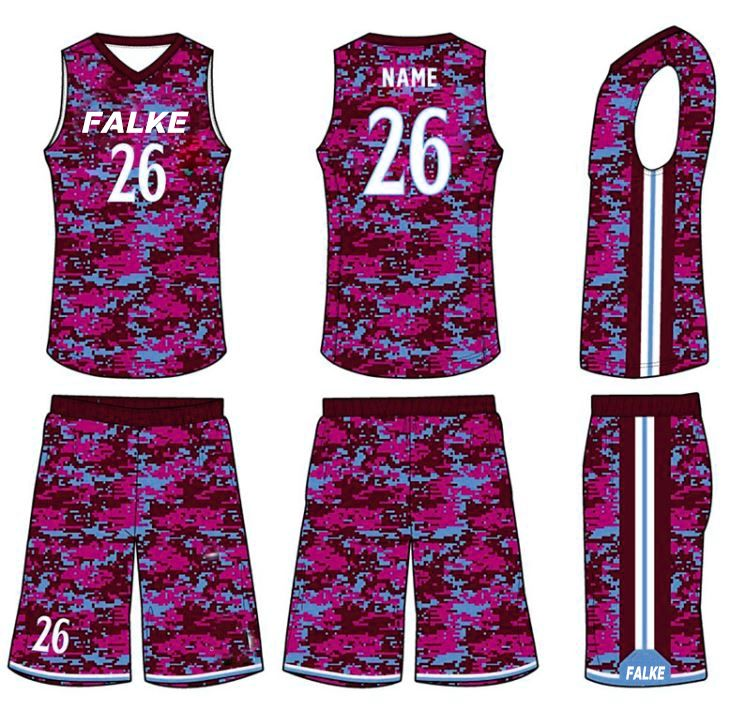 Sublimation Design Basketball Uniform - Pakistan we are offering custom  Brand Sports Uniforms for All Sports 76f38214a