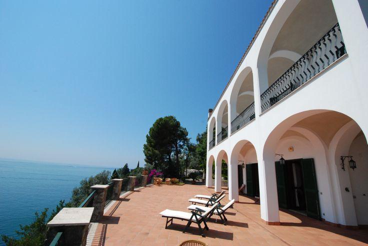 """""""Villa Cetara"""" in Italië. Geschikt voor 16 personen."""