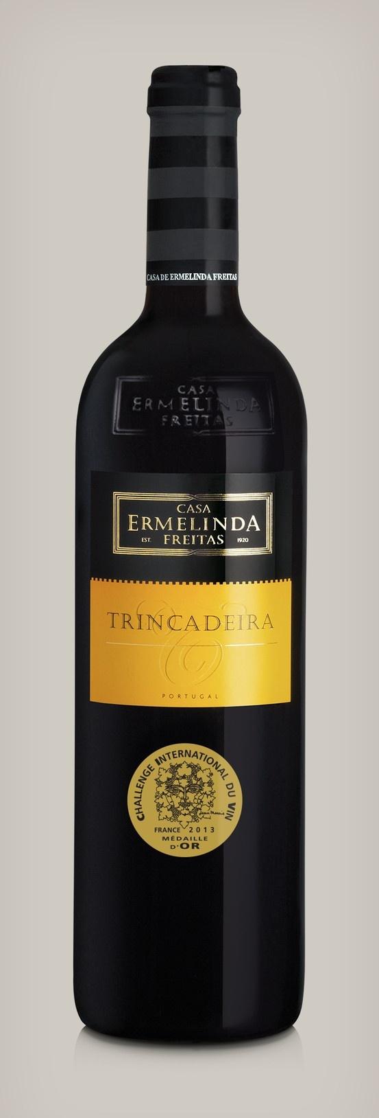 Casa Ermelinda Freitas Trincadeira 2010. (Setúbal region) Challenge Internatinal Du Vin Gold Medal Winner.