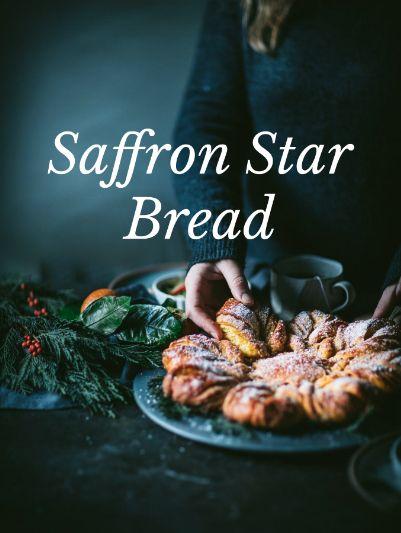 Saffron Star Bread