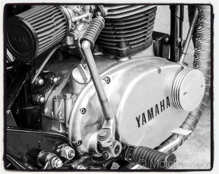 Worked a bit this weekend on the custom #yamahaxs650... #xs650 #vintageyamaha